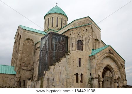 Bagrati Cathedral building in Kutaisi city,  Georgia