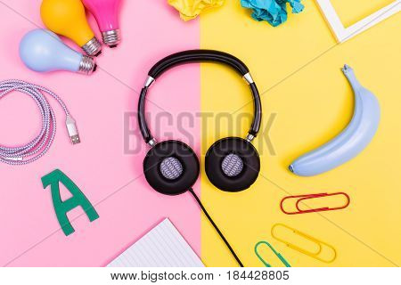 Headphones With Objects