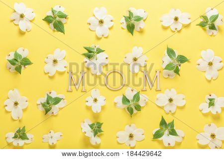 Mother's Day Celebration Theme With Dogwood Flowers