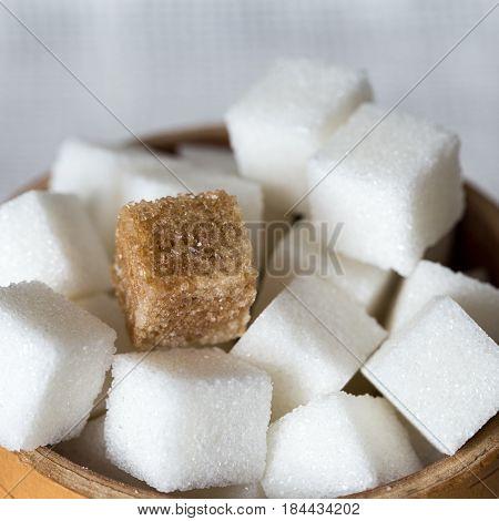 Pieces Of Refined Sugar