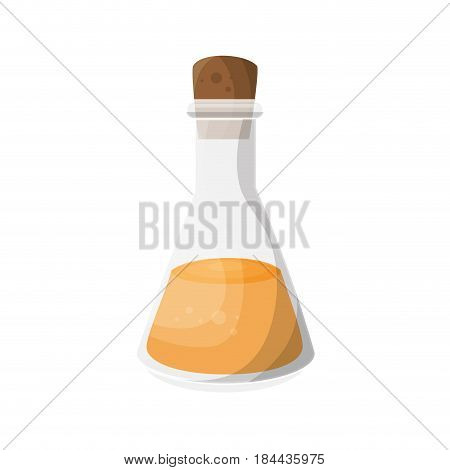 Relaxation oil bottle icon over white background. spa center concept. colorful design. vector illustration