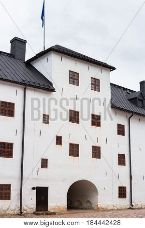 Turku, Finland - July 03, 2016: Medieval Turku Castle in Finland