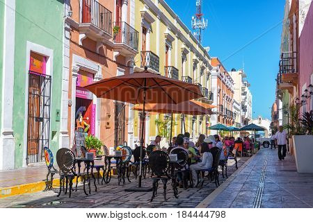 Outdoor Restaurants In Campeche