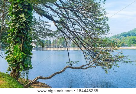 The Bogambara Lake