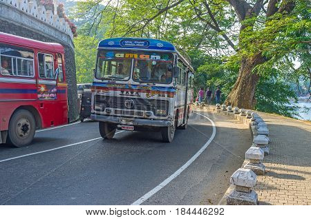 Buses On The Road