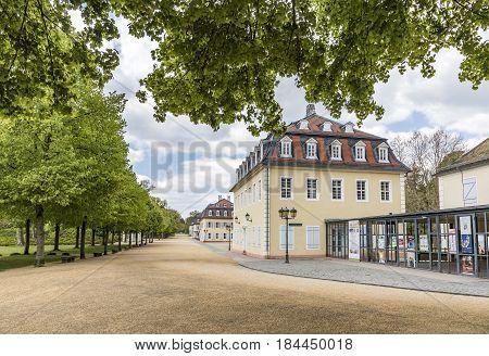 Facade Of Wilhelmsbad In Hanau