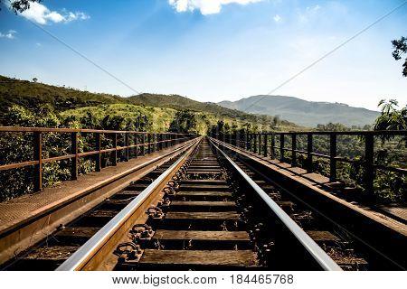 Train Rail, Moutain