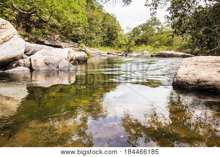 Morada Do Sol Waterfall In Chapada Do Veadeiros
