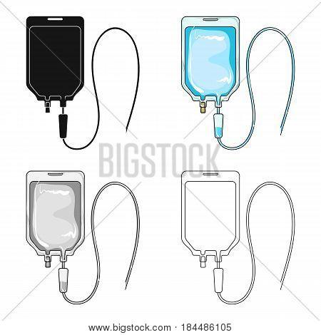 Medicine package.Medicine single icon in cartoon style vector symbol stock illustration .