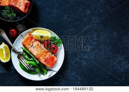Roasted Salmon Fillet