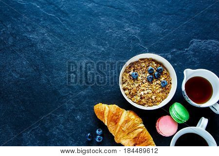 Breakfast Concept On Table