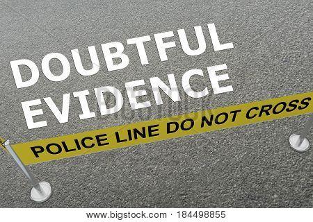 Doubtful Evidence Concept