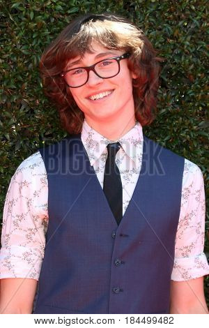 LOS ANGELES - APR 30:  Tristan Lake Leabu at the 44th Daytime Emmy Awards - Arrivals at the Pasadena Civic Auditorium on April 30, 2017 in Pasadena, CA