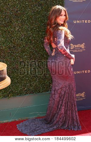 LOS ANGELES - APR 30:  Lilly Melgar at the 44th Daytime Emmy Awards - Arrivals at the Pasadena Civic Auditorium on April 30, 2017 in Pasadena, CA