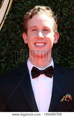 LOS ANGELES - APR 30:  Alex Wyse at the 44th Daytime Emmy Awards - Arrivals at the Pasadena Civic Auditorium on April 30, 2017 in Pasadena, CA