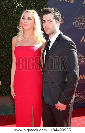 LOS ANGELES - APR 30:  Guest, Freddie Smith at the 44th Daytime Emmy Awards - Arrivals at the Pasadena Civic Auditorium on April 30, 2017 in Pasadena, CA