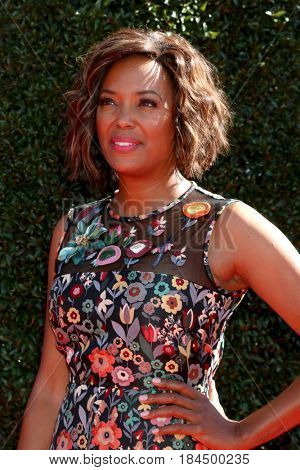 LOS ANGELES - APR 30:  AIsha Tyler at the 44th Daytime Emmy Awards - Arrivals at the Pasadena Civic Auditorium on April 30, 2017 in Pasadena, CA