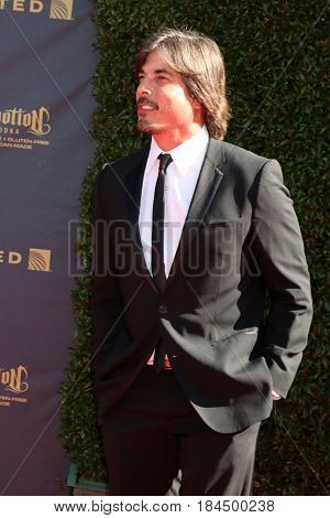 LOS ANGELES - APR 30:  Bryan Dattilo at the 44th Daytime Emmy Awards - Arrivals at the Pasadena Civic Auditorium on April 30, 2017 in Pasadena, CA