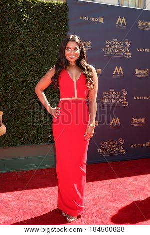 LOS ANGELES - APR 30:  Tracey Edmonds at the 44th Daytime Emmy Awards - Arrivals at the Pasadena Civic Auditorium on April 30, 2017 in Pasadena, CA
