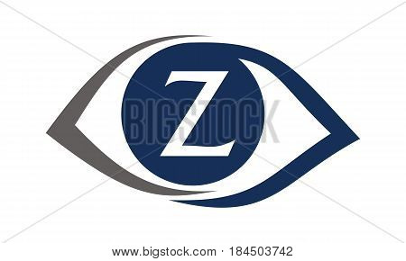 This image describe about Eye Care Solutions Letter Z