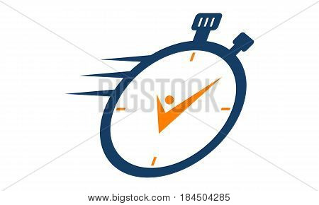 This Image describe about Time Management Logo