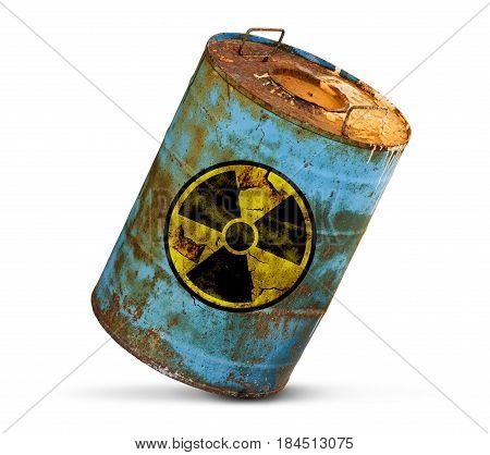 Radioactive Pollution Concept