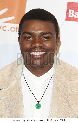 NEW YORK-APR 19: NEW YORK-APR 19: Marc John Jeffries attends the Food Bank for New York City's Can-Do Awards Dinner 2017 at Cipriani's on April 19, 2017 in New York City.