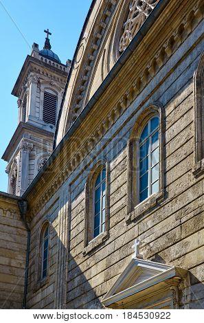 The Hagia Triada (holy Trinity) Orthodox Church In Istanbul.
