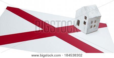 Small House On A Flag - Alabama