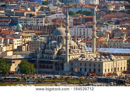 New Mosque, Istanbul, Turkey