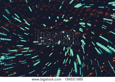 Abstract Illustration Of Sci-fi Space Warp To Light Speed Modern Technology Deep Space Technology Co