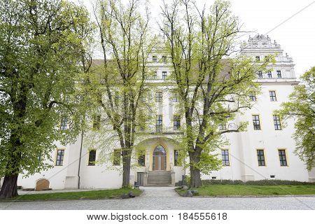 Ortenburg castle in the town of Bautzen, East Germany