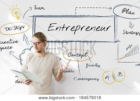 Entrepreneur business enterprise meeting