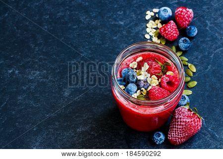 Detox Berry Smoothie«