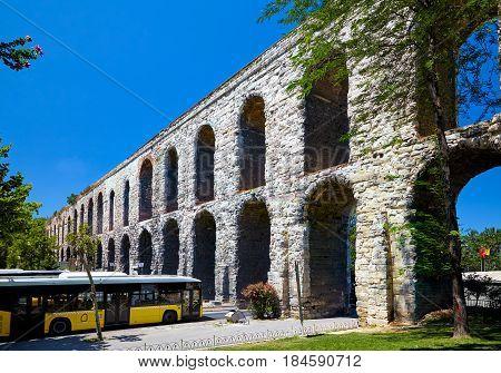 The Valens Aqueduct, Istanbul