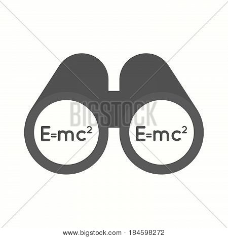 Isolated Binoculars With The Theory Of Relativity Formula