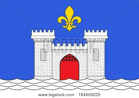 Flag of Blaye is a commune and subprefecture in the Gironde department in Nouvelle-Aquitaine in southwestern France