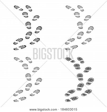 Steps of the criminal. The criminal escaped from prison.Prison single icon in cartoon style vector symbol stock web illustration.