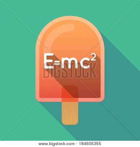 Long Shadow Ice Cream With The Theory Of Relativity Formula