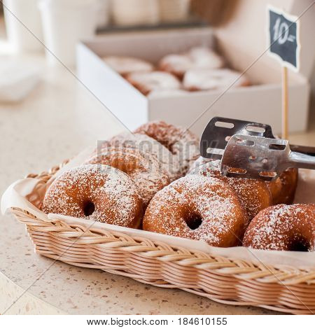 Doughnut Store Counter
