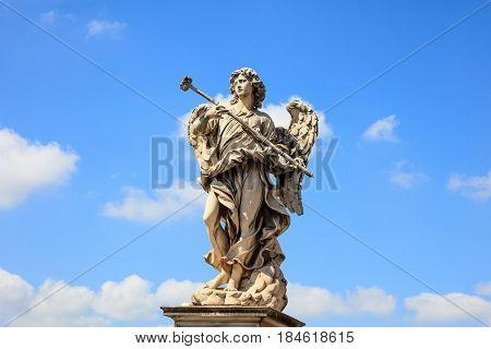 Rome, Italy - Angel Statue, Saint Angel Bridge