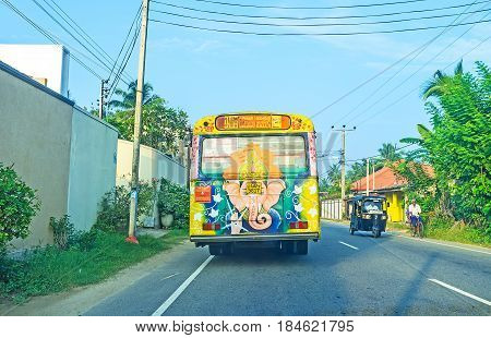 The Bus With Ganesha