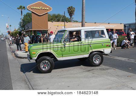 Ford Bronco On Display