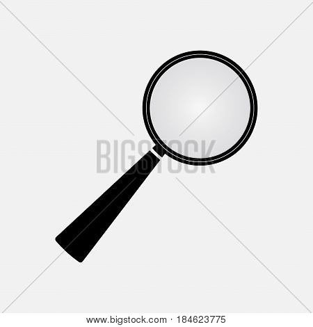 icon loupe magnification black magnifying glass icon search magnifying glass icon image magnification fully edit vector image