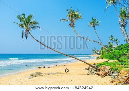 The Tyre Swing On The Beach