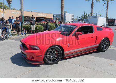 Ford Mustang Gt 500 Fifth Generation On Display