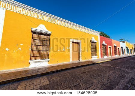 Row Of Colonial Buildings