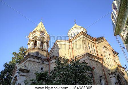 Armenian Apostolic Church Surb Kristos Amenaprkachekheci (Church of the Holy Christ of the Savior). Batumi. Georgia.
