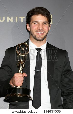 LOS ANGELES - APR 30:  Bryan Craig, General Hospital in the 44th Daytime Emmy Awards Press Room at the Pasadena Civic Auditorium on April 30, 2017 in Pasadena, CA