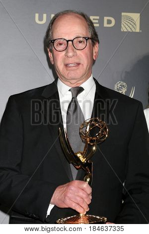 LOS ANGELES - APR 30:  Harry Friedman, Best Game Show, Jeopardy in the 44th Daytime Emmy Awards Press Room at the Pasadena Civic Auditorium on April 30, 2017 in Pasadena, CA